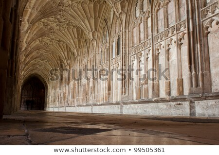 The Cloister in Gloucester Cathedral Stock photo © luissantos84