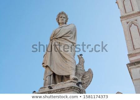 Heykel Floransa detay taş mimari Avrupa Stok fotoğraf © boggy