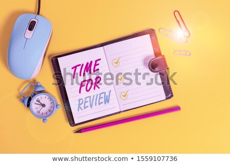 Mouse and  alarm clock concept Stock photo © Krisdog