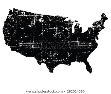 USA · Pokaż · grunge · papieru · streszczenie · czerwony - zdjęcia stock © carenas1