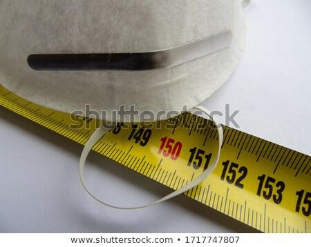 şerit metre kriz ağırlık kontrol iki kilolu Stok fotoğraf © Lightsource