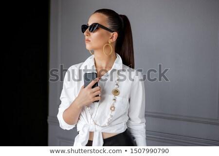 женственность · молодые · красивой · женщину - Сток-фото © lightfieldstudios