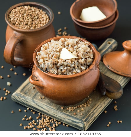 Caneca cozinhado cinza lugar comida saudável Foto stock © Digifoodstock