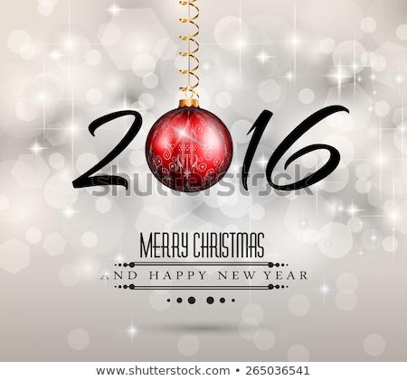 wesoły · christmas · strony · ulotki · projektu · wakacje - zdjęcia stock © articular