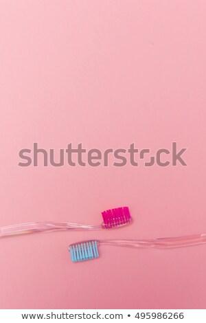 Clear quartz over white Stock photo © wollertz