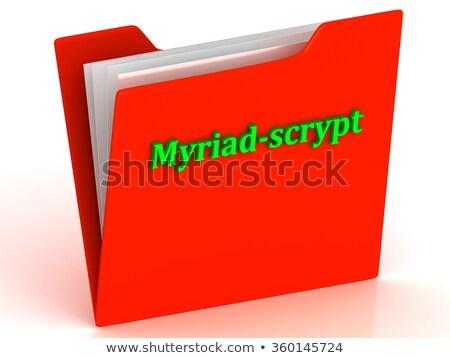 Myriad - Trading Sign on Digital Background. Stock photo © tashatuvango