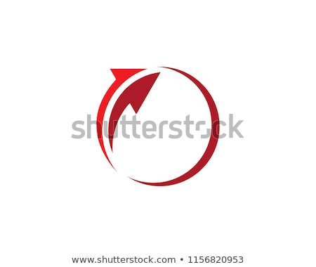 Seta logotipo modelo negócio escritório arte Foto stock © taufik_al_amin