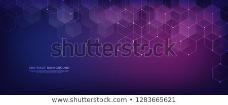 minimal subtle hexagonal dots pattern background Stock photo © SArts