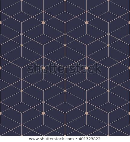 Photo stock: Bleu · ligne · vecteur · modèle