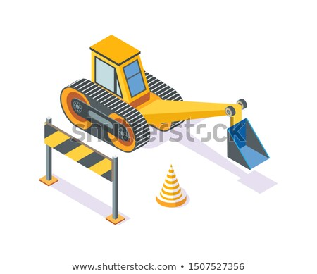estrada · trabalhar · conjunto · equipamento · branco · segurança - foto stock © robuart
