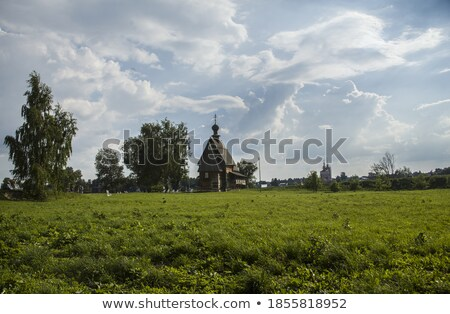 st nicholas church suzdal russia stock photo © borisb17