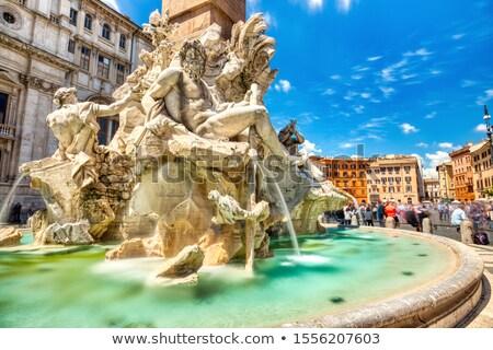 Fontana Roma Italia settentrionale fine acqua Foto d'archivio © borisb17