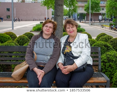 Women of age generations growing up with city Stock photo © wavebreak_media
