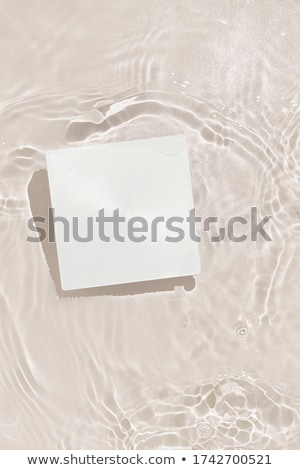 Paper on the background of the pool, copy space stock photo © galitskaya