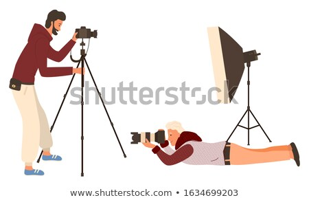 Photo Apparatus, Film Camera, Shooting Vector Stock photo © robuart