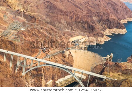 mike callaghan-pat tillman bridge, grand canyon Stock photo © dolgachov