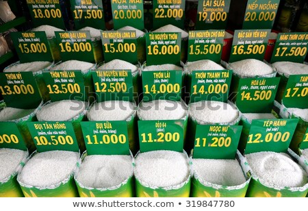 green seeds in the vietnamese market stock photo © galitskaya