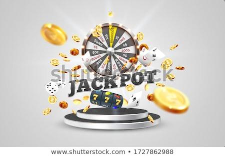 Win dices Stock photo © montego