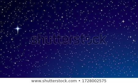 Beautiful nebula and bright stars, mysterious universe. Elements of this image furnished by NASA Stock photo © NASA_images