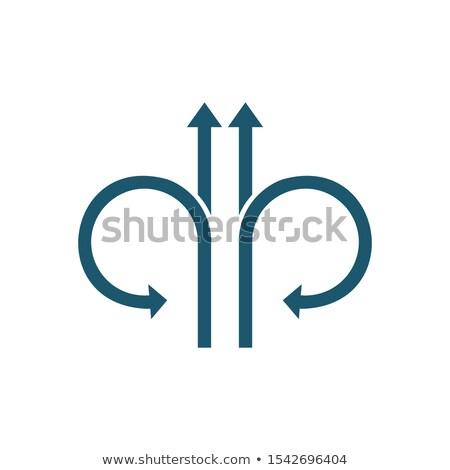 4 ストレート フォワード ターン 戻る ストックフォト © kyryloff