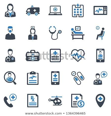 Kardiogram verslag patiënt gezondheidszorg vector Stockfoto © robuart