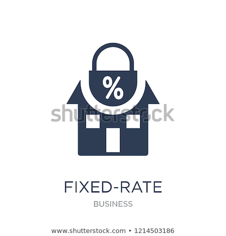 Lock Home Interest Rate Stock photo © AndreyPopov