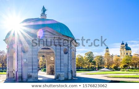 храма Мюнхен Германия центр небе здании Сток-фото © borisb17