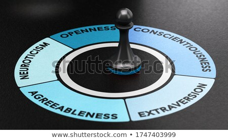 Psychology Model. Big Five Personality Traits, Ocean Model.  Stock photo © olivier_le_moal