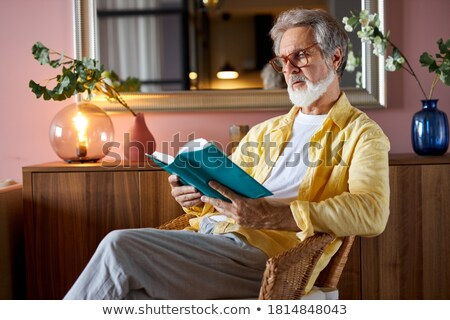 Man and book scene Stock photo © curaphotography