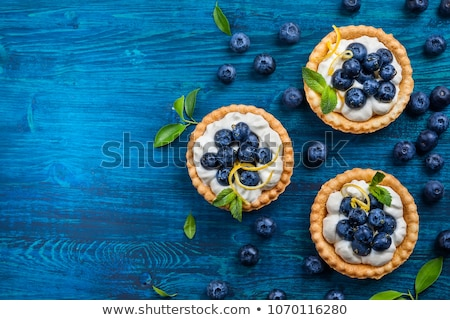 mini lemon fruit tart stock photo © aladin66