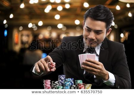 asian gambling Stock photo © zkruger
