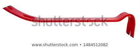 Branco segurança seguro perigo carpinteiro proteção Foto stock © ozaiachin