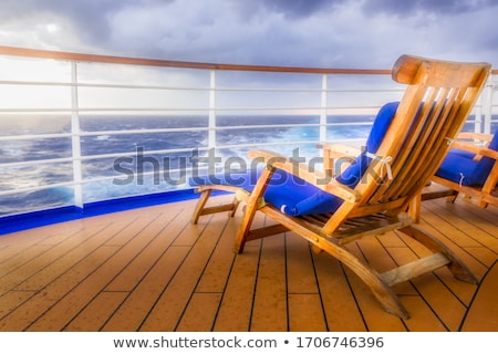 cruise · vrachtschip · horizon · hemel · achtergrond · oceaan - stockfoto © photocreo