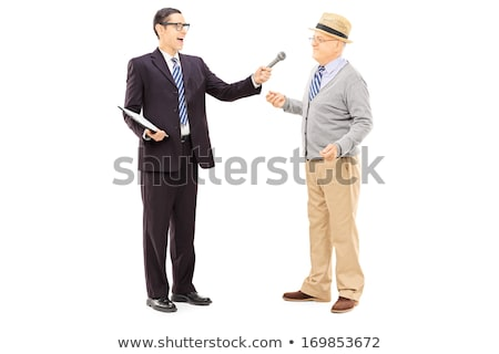 Man conducting a survey Stock photo © photography33