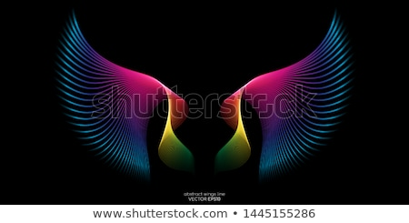 Symmetrie reflectie najaar rivier hemel hout Stockfoto © CaptureLight