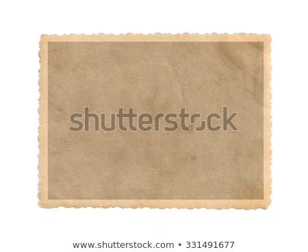 Old photo frame Stock photo © Stocksnapper