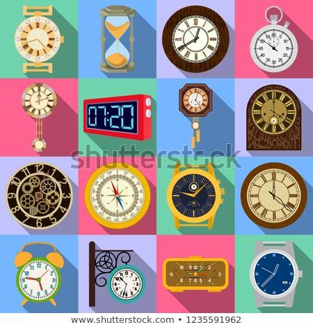 Digital Chronometer and Compass Displays Stock photo © Kaludov