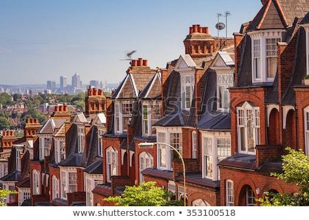 London panoramic background Stock photo © prill