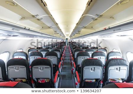 平面 廊下 天井 現代 飛行機 ストックフォト © Hasenonkel