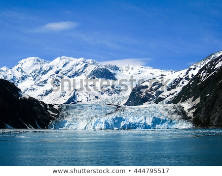 surpresa · geleira · abstrato · luz · mar · montanha - foto stock © jaymudaliar