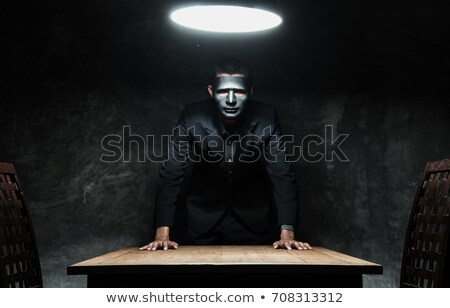 terrorist Business man  Stock photo © pedromonteiro