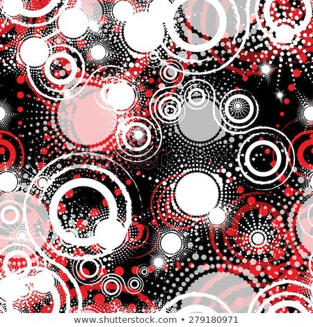 simples · geométrico · vetor · sem · costura · monocromático · padrão - foto stock © pzaxe
