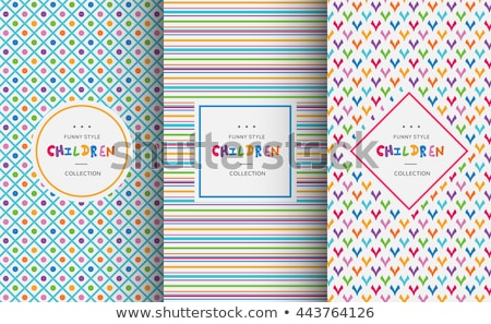 holiday backdrops   set colored fabrics stock photo © ecelop