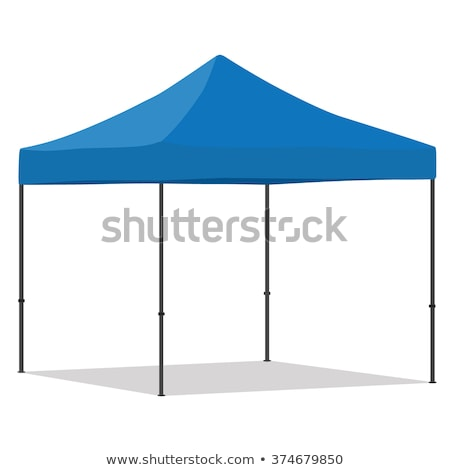 Blue tent stock photo © Silvek