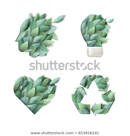 think green vector concept background stock photo © krabata