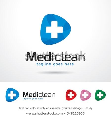 vector logo medicines Stock photo © butenkow
