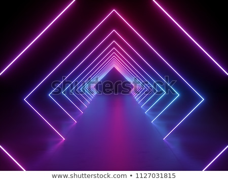 purple violet background with lights and lines Stock photo © marinini