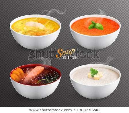 Collection of Soups Stock photo © zhekos