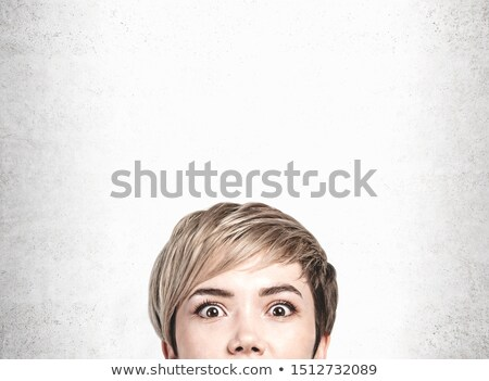 young surprized blonde Stock photo © yurok