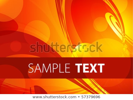 Fiery Abstract Layout Stock photo © ArenaCreative